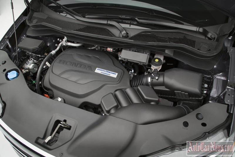 двигатель новой Honda Pilot