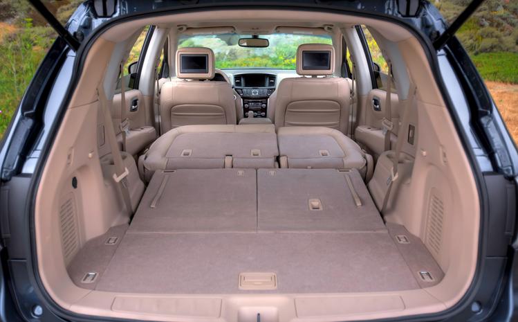 Багажник и спальное место по совместительству