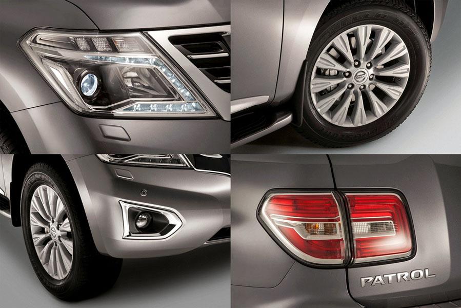 Каждый элемент Nissan Patrol выполнен качественно и оригинально, перепутать автомобиль с другим внедорожником будет трудно.