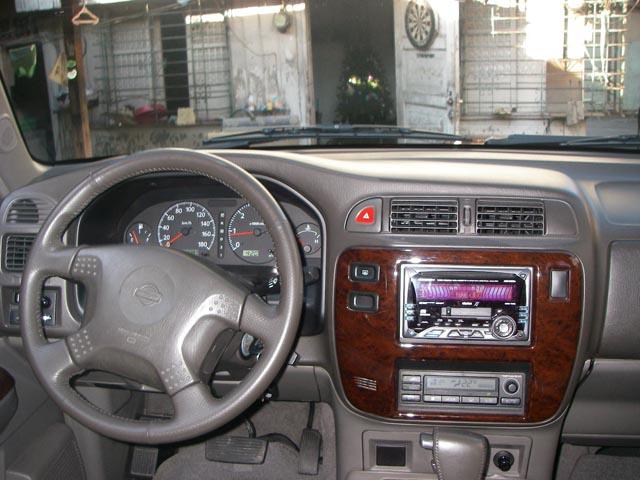 салон   Nissan Patrol Y61