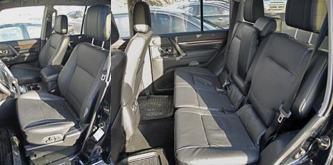 Места хватает как в области передних сидений, так и задних. Единственное, что может расстроить задних пассажиров — это тряска.