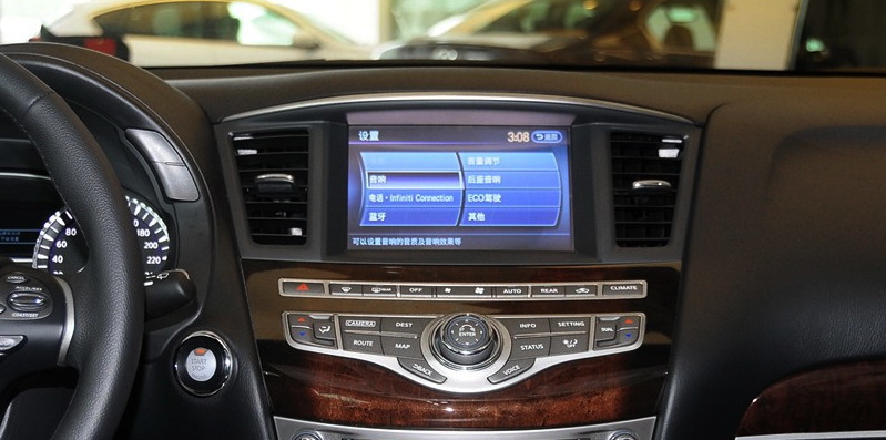 Мультимедийная система автомобиля