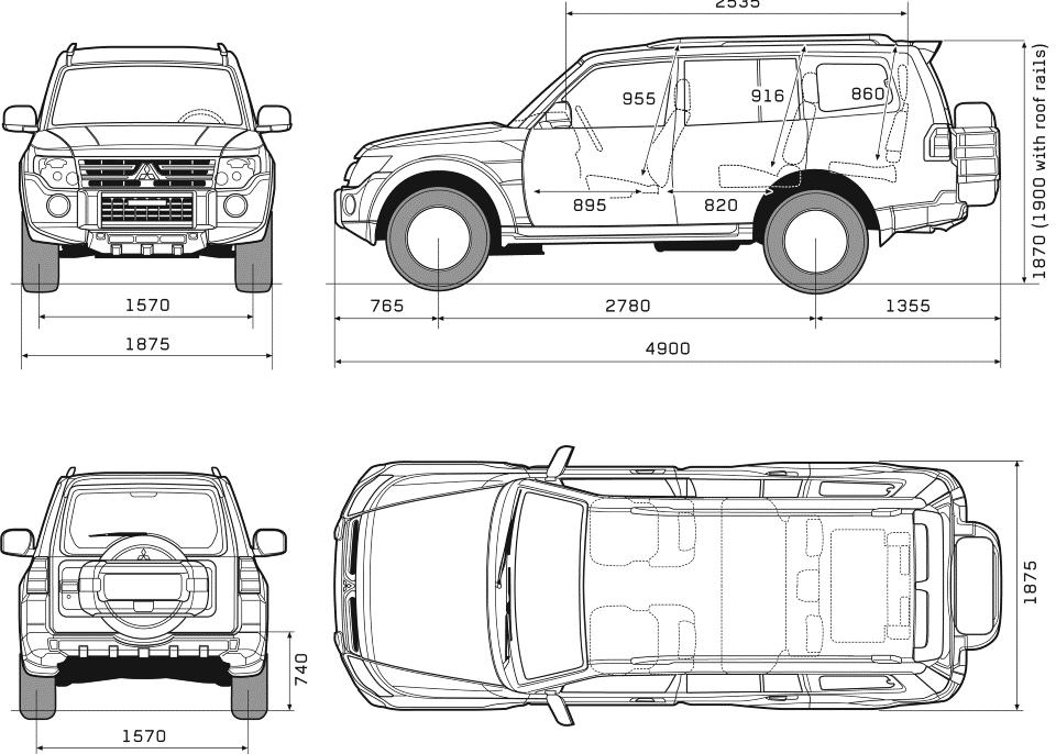 Пятидверная версия авто