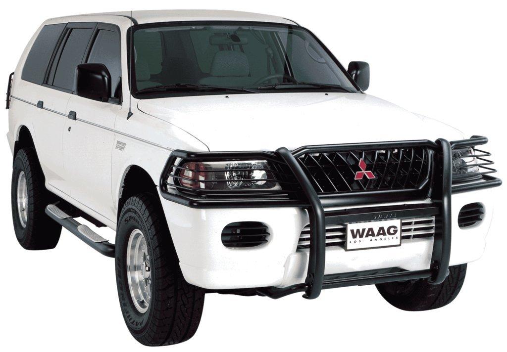 Мощный внедорожник от компании Mitsubishi
