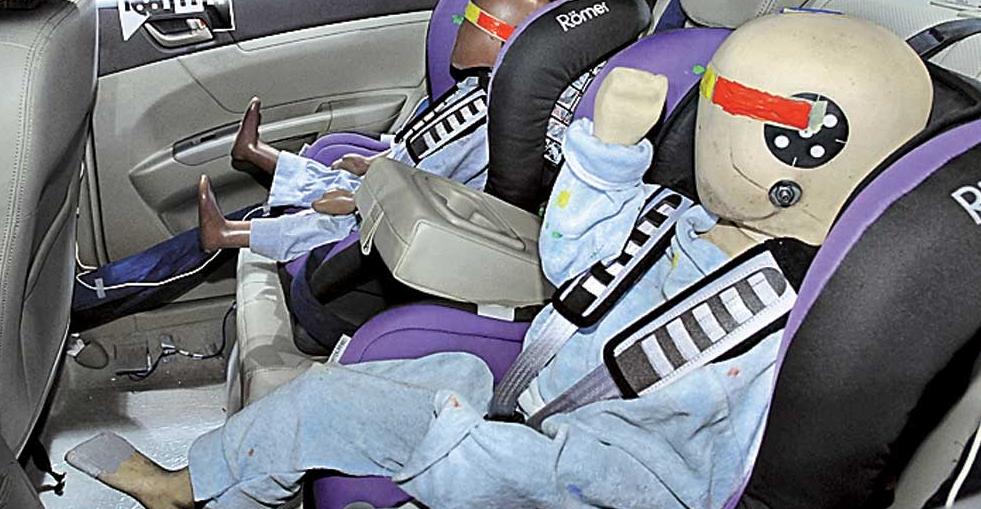 Рис. 2. Манекены для тестов NCAP.