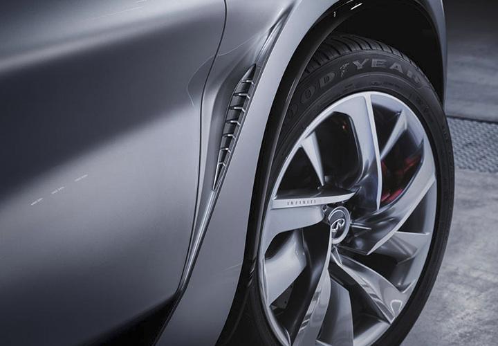 Производитель изменил колесные арки