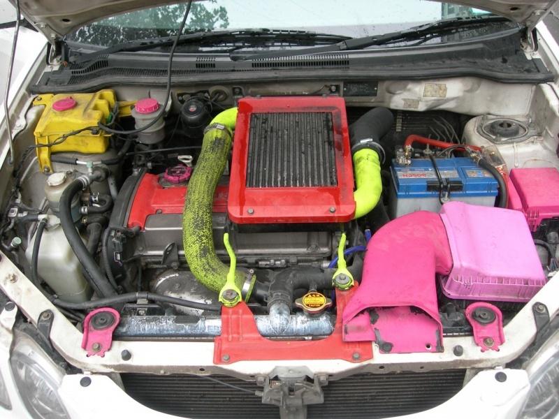 Рис. 5. Мотор автомобиля.