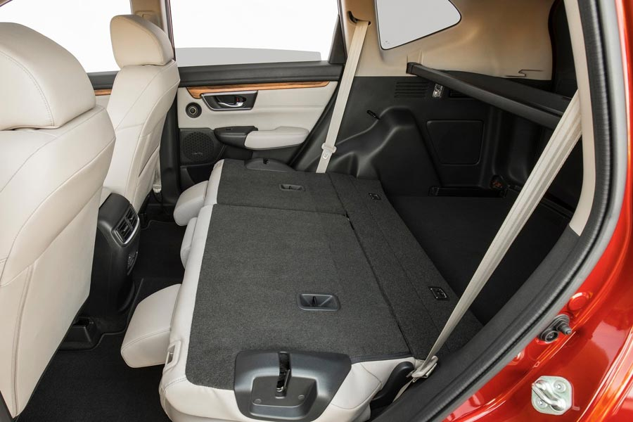 Рис. 5. Багажник модели CR-V 2017.