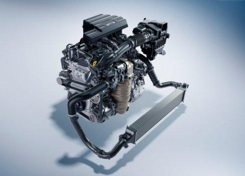 Двигатель нового автомобиля