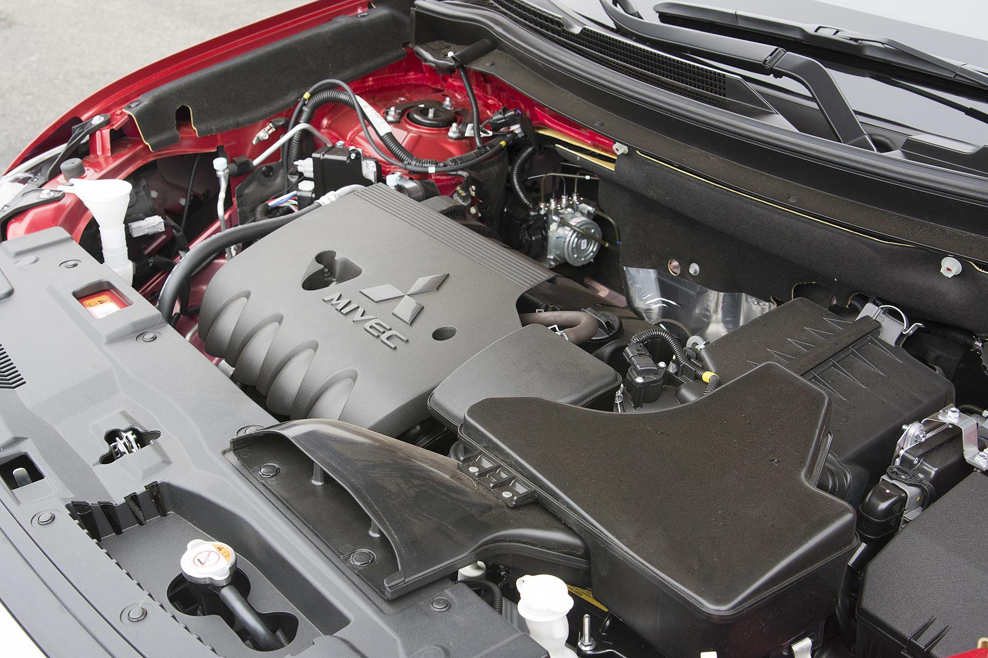 Рис. 5. Двигатель кроссовера.