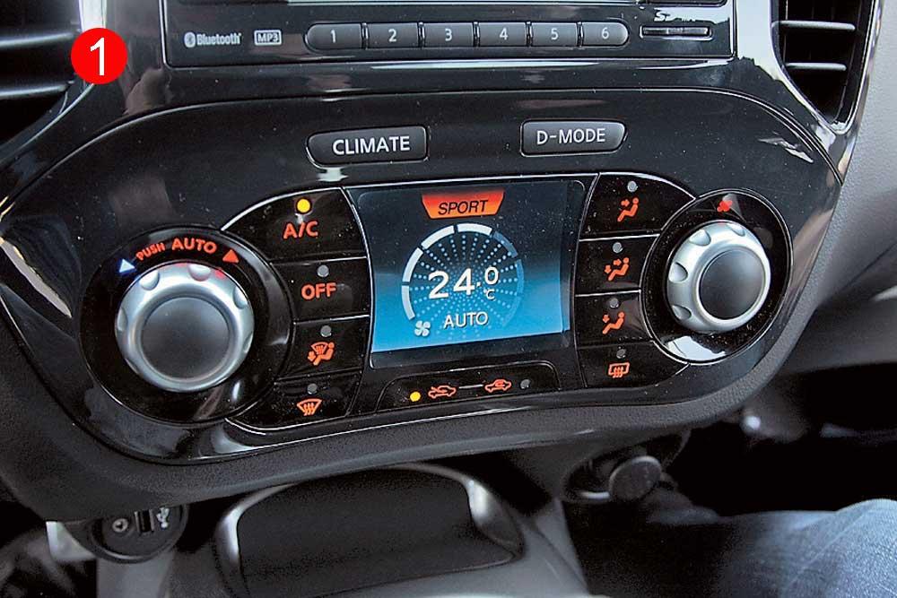 Рис. 5. Система климат-контроля авто.