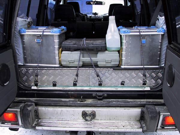 Вместительное багажное отделение