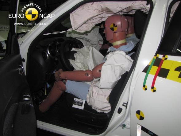 Положение водителя после аварии